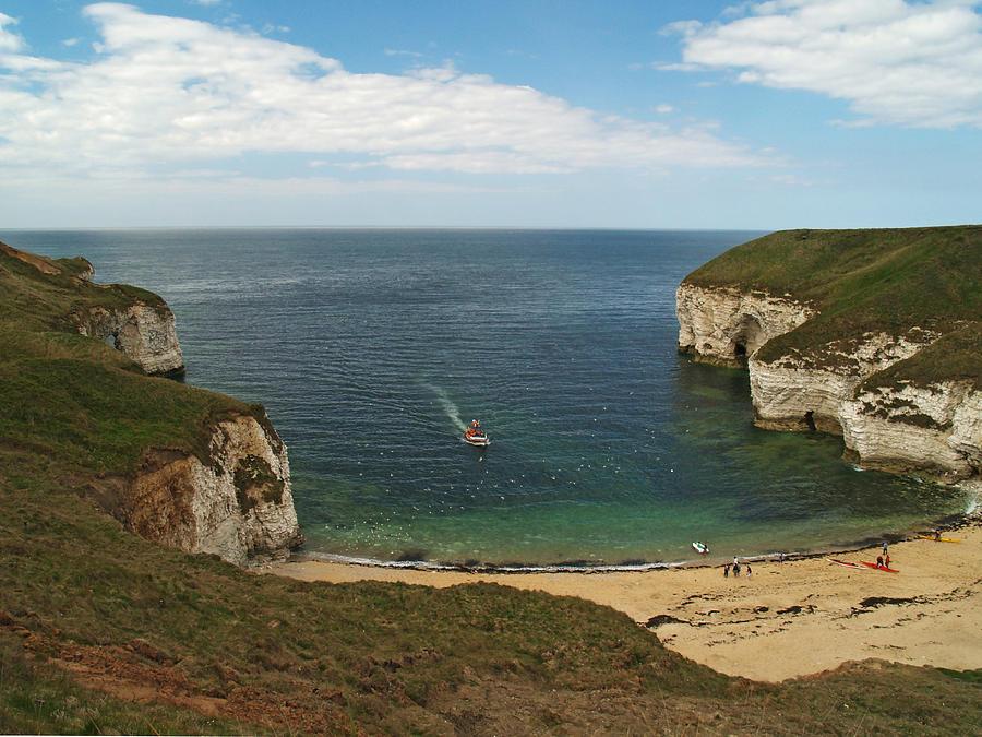 Cliffs Photograph - North Landing by Steve Watson