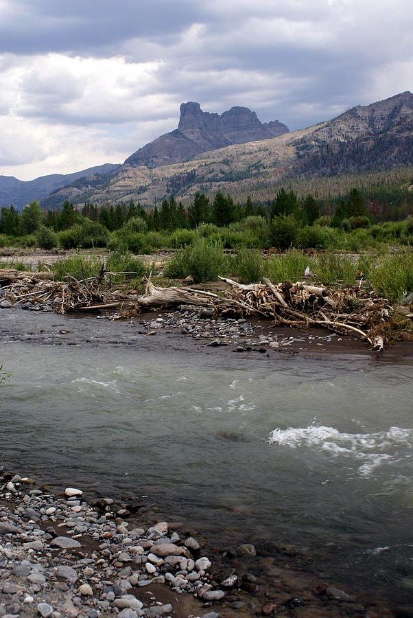 Rivers Photograph - North Of Dubois Wy by Marty Koch