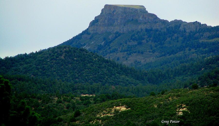 Patzer Photograph - North Of Santa Fe by Greg Patzer