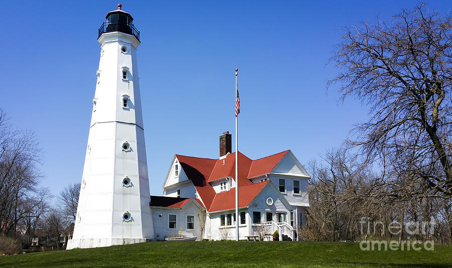 Samsung Photograph - North Point Lighthouse  by Ricky L Jones