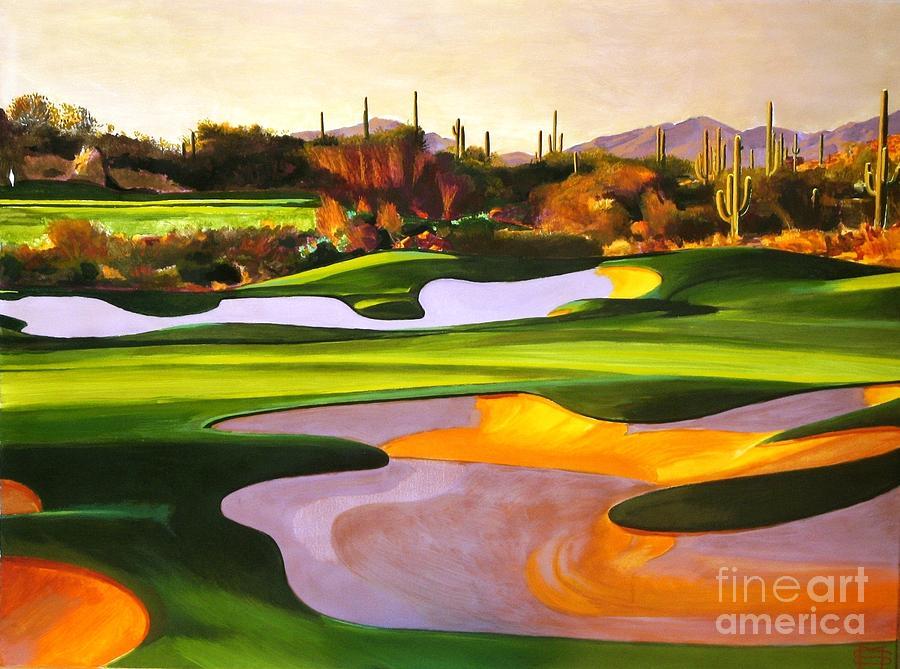 North Scottsdale Golf Course by Michael Stoyanov
