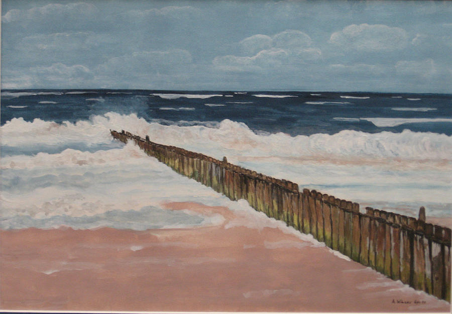 Sylt Painting - North Sea Sylt by Antje Wieser