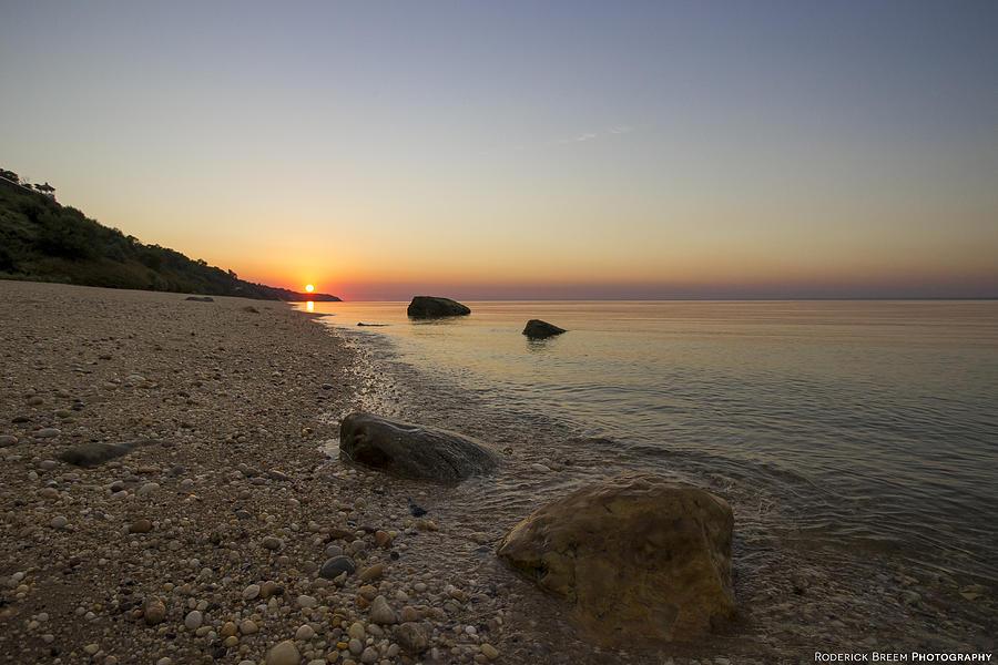 Sunset Photograph - North Shore Sunset by Roderick Breem