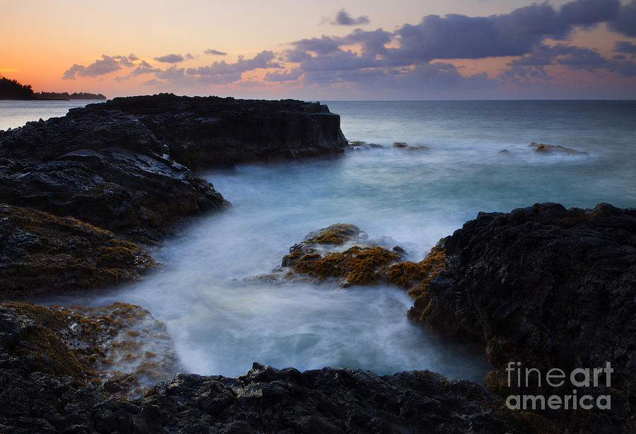 Bali Hai Photograph - North Shore Tides by Mike  Dawson