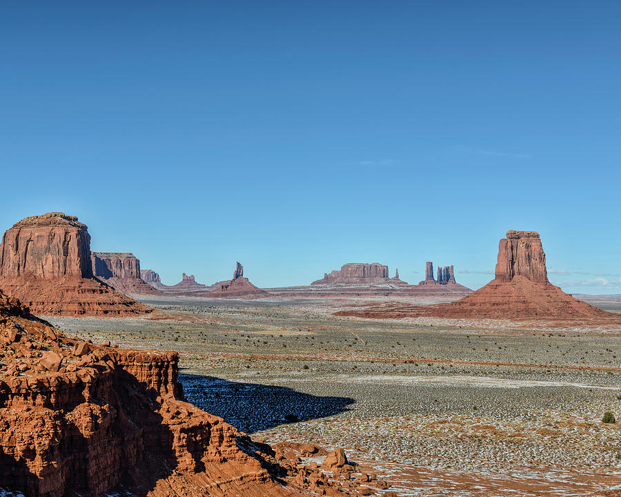 Monument Valley Photograph - North Window View by Mike Herdering