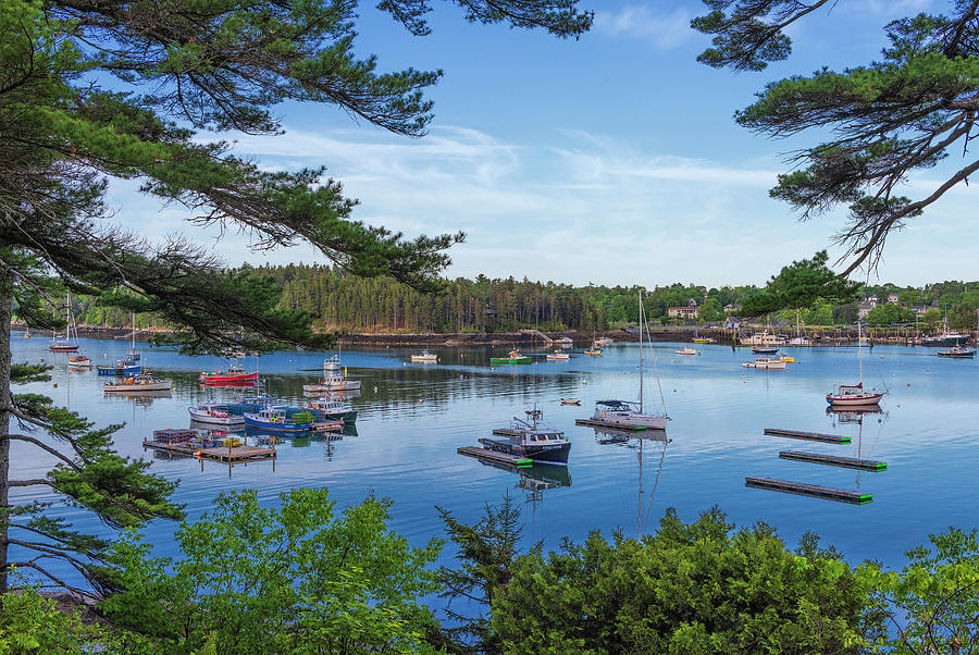 Northeast Harbor #1 by Dennis Kowalewski