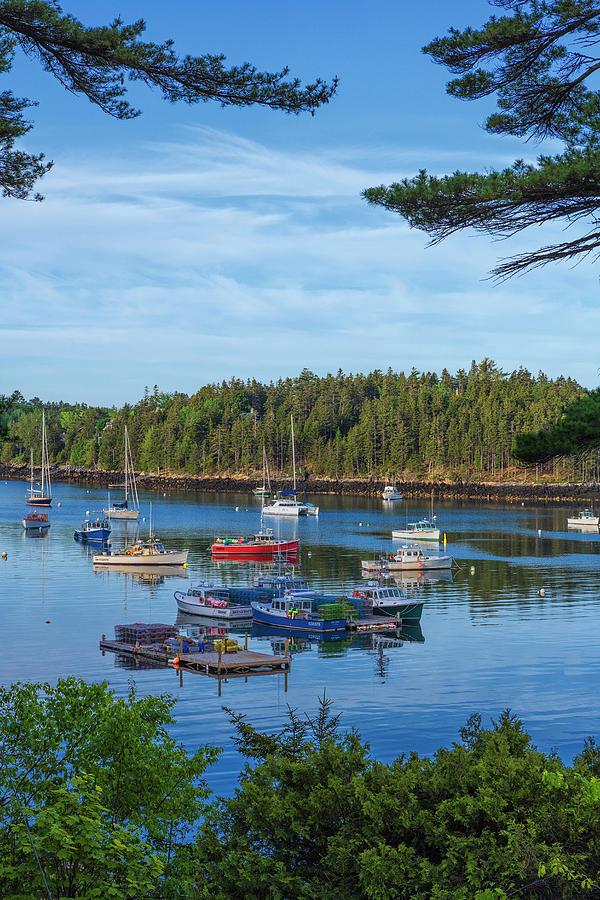 Northeast Harbor #2 by Dennis Kowalewski