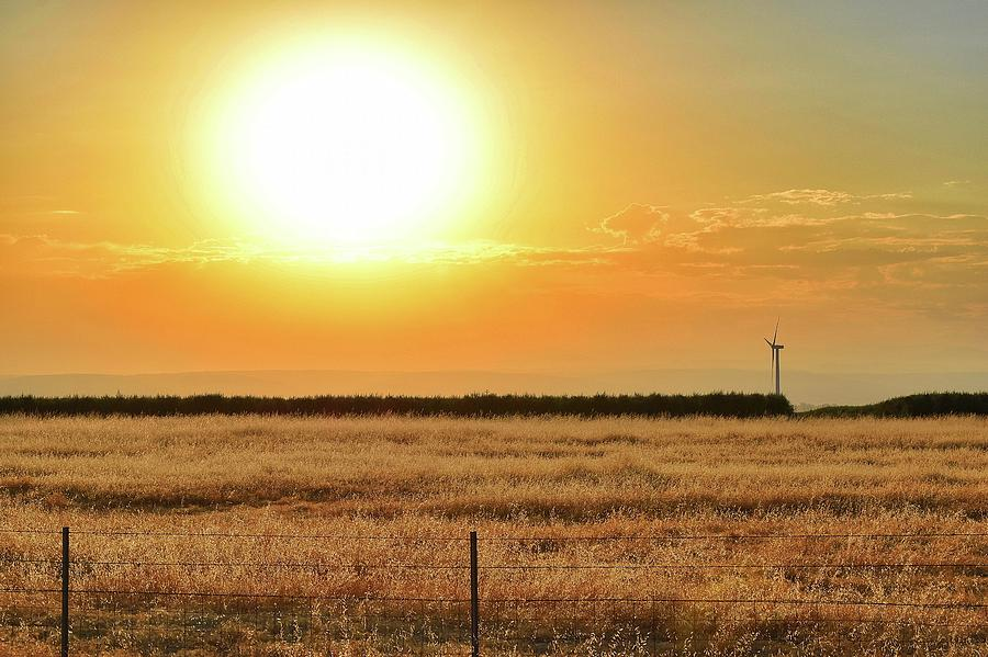 Sunrise Photograph - Northern California Sunrise by Sagittarius Viking