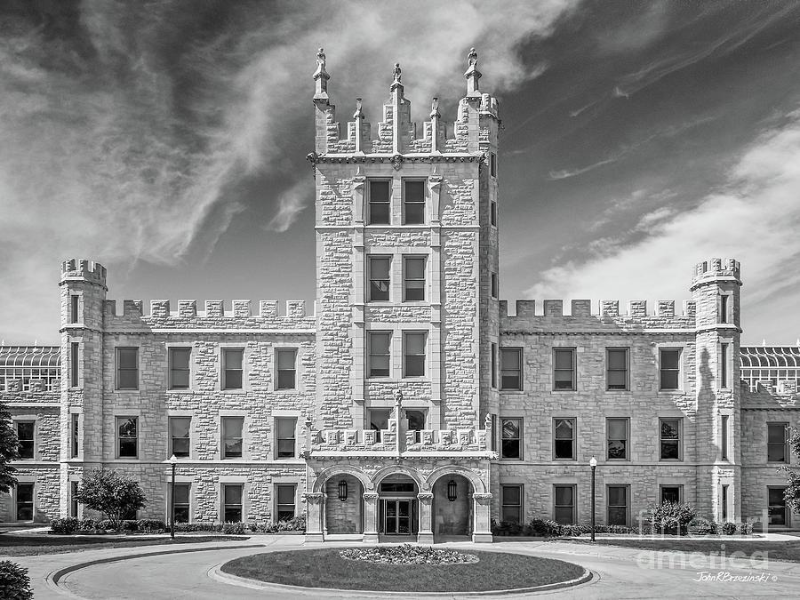 Altgeld Hall Photograph - Northern Illinois University Altgeld Hall by University Icons
