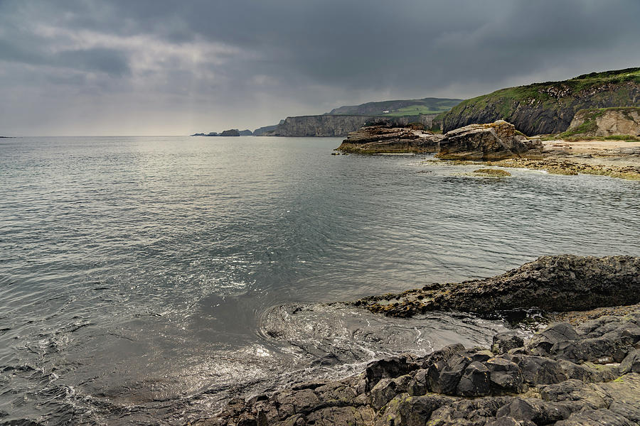 Northern Ireland Coastline by Janis Knight
