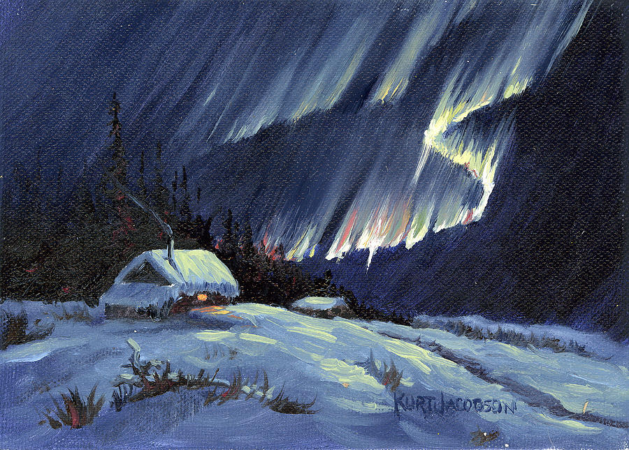 Northern Lights Paintings For Sale
