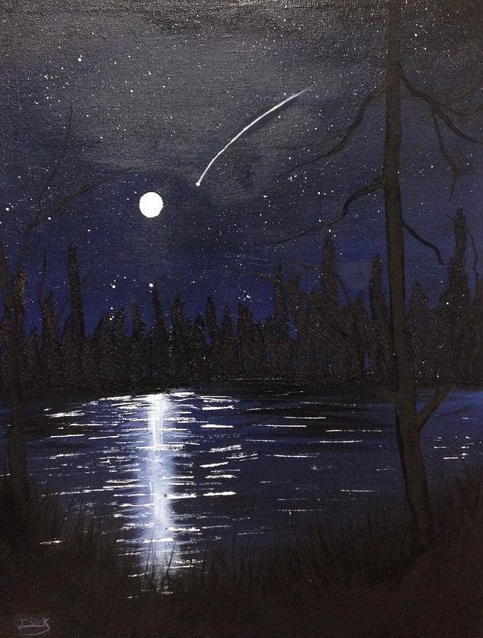 Painting A Night Sky Acrylic