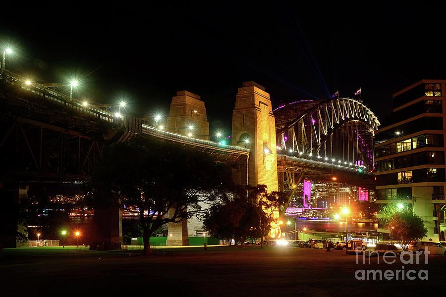 Northern View Sydney Harbour Bridge By Kaye Menner Photograph