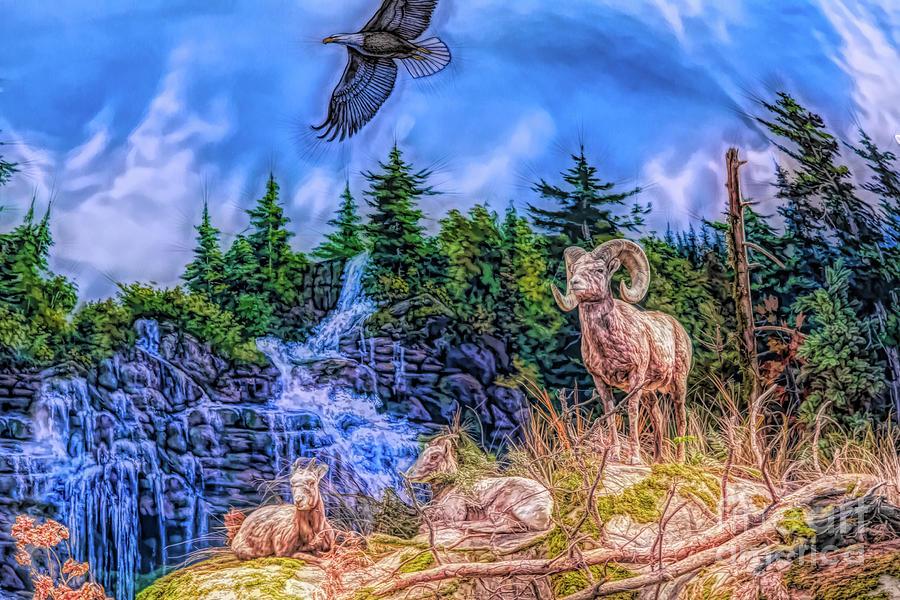 Northern Wilderness by Ray Shiu