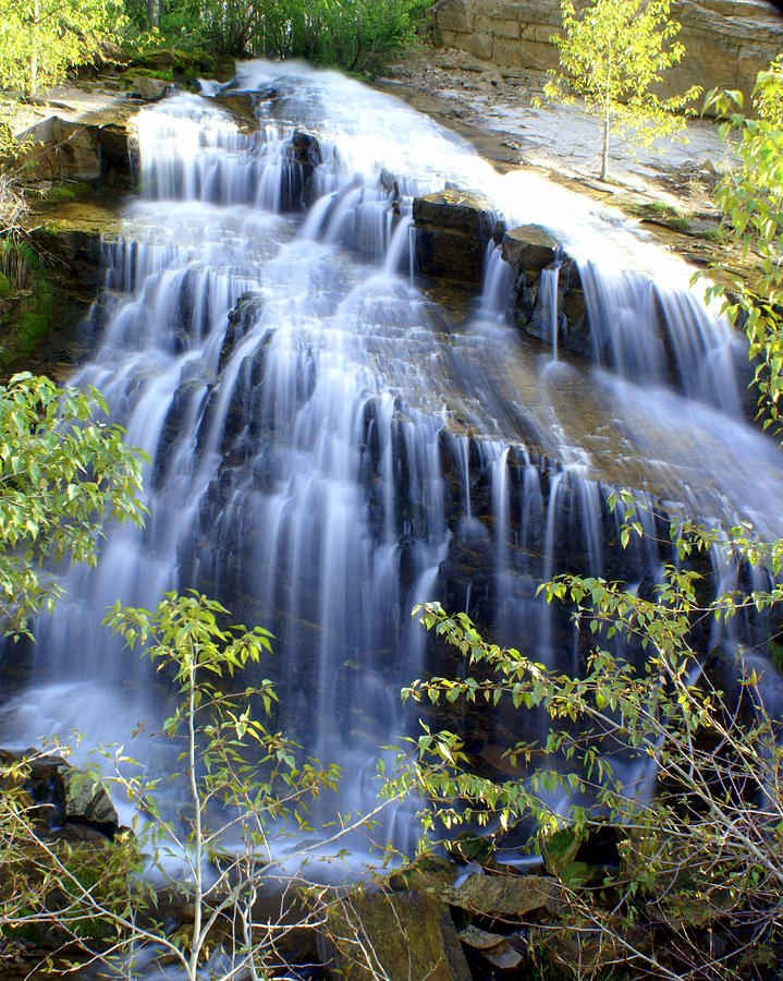 Waterfalls Photograph - Northfork Falls by Marty Koch
