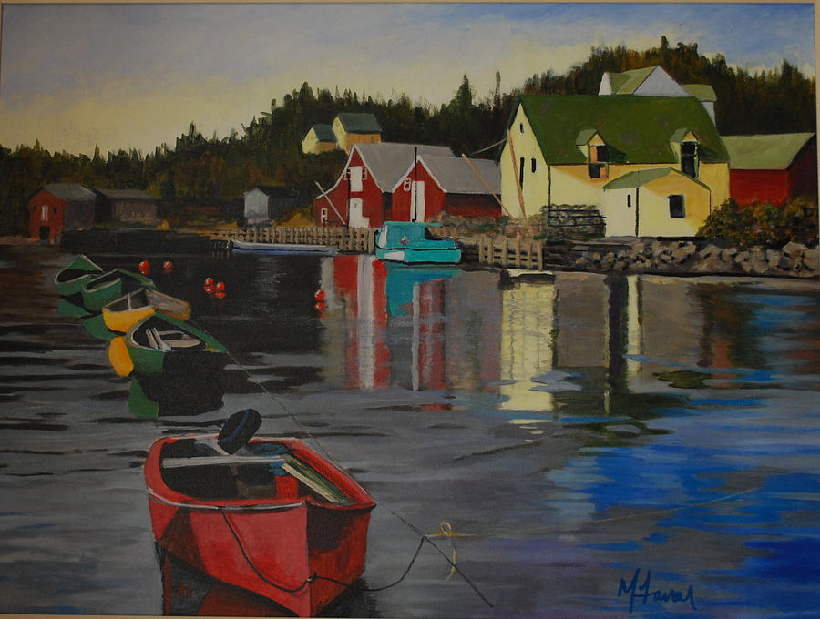 Nova Scotia Painting - Northwest Cove  Nova Scotia by Margaret Farrar
