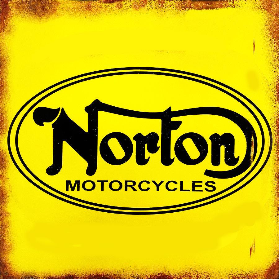 Norton Motorcycle Photograph - Norton Motorcycles by Mark Rogan