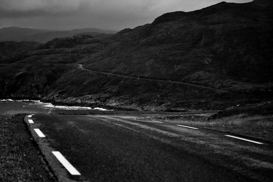 Norway Photograph - Norwegian Arctic Coastal Highway by David Broome