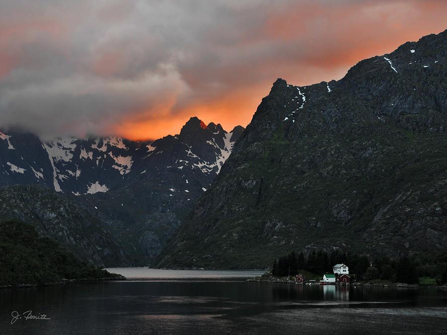 Norway Photograph - Norwegian Coast No. 2 by Joe Bonita