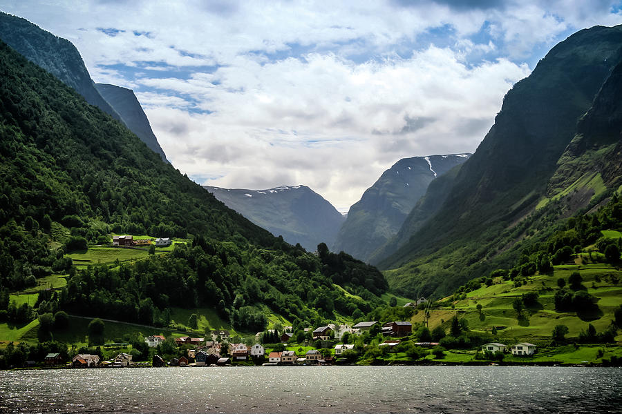 Norwegian Fjord Village by KG Thienemann
