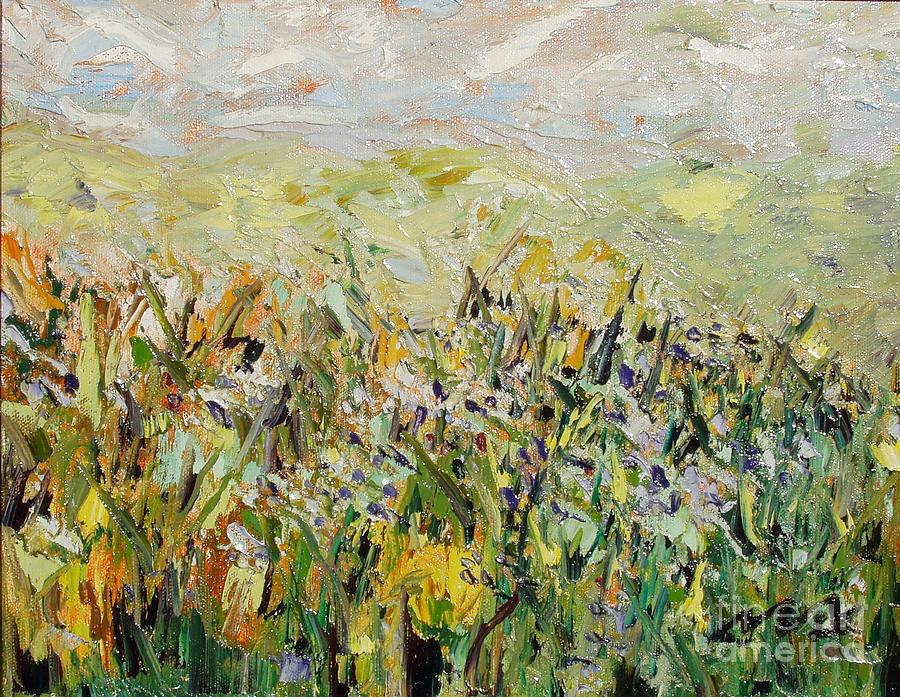 Abstract Paintings Painting - Nose Hill by Seon-Jeong Kim