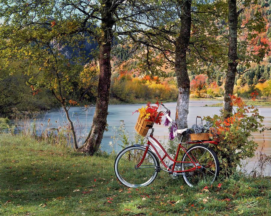 Beautiful Photograph - Nostalgia Autumn by Leland D Howard