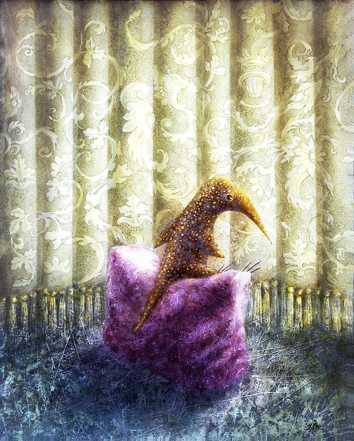 Curtains Painting - Nostalgia by Lolita Bronzini