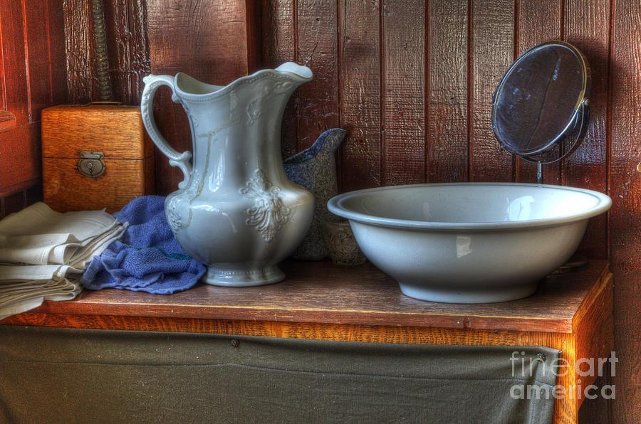Nostalgia Photograph - Nostalgia Wash Stand by Bob Christopher