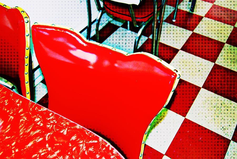 Diner Photograph - Nostalgic by JAMART Photography