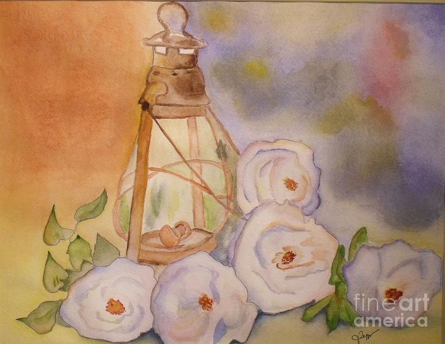 Flower Painting - Nostalgie  by Djl Leclerc