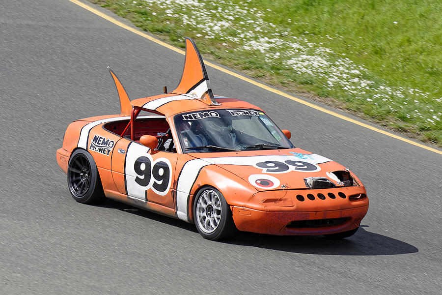 24 Hours Of Lemons >> Not Clowning Around Mazda Miata At The 24 Hours Of Lemons Race In Sonoma California