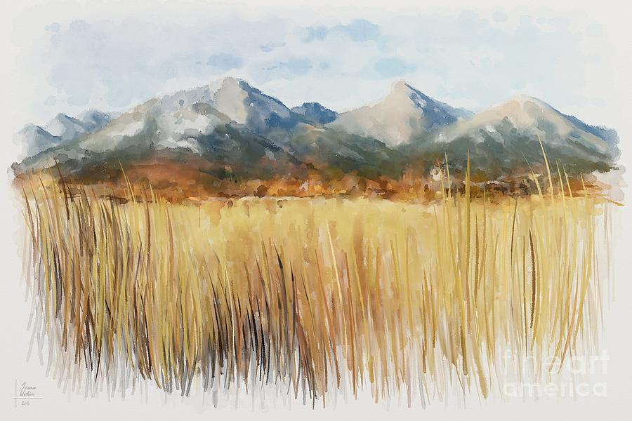Alps Painting - Not Far Away by Ivana Westin