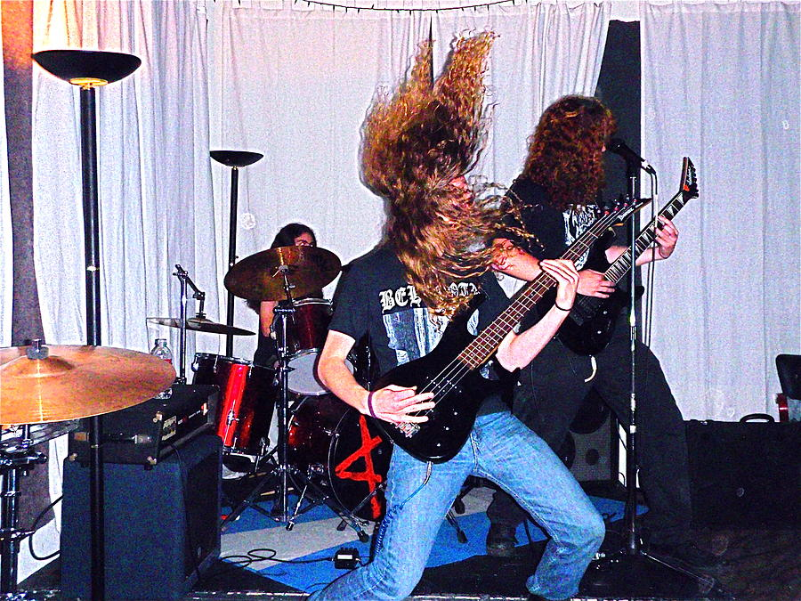 Rock Photograph - Not Hair Metal by Mary Allison Tierney