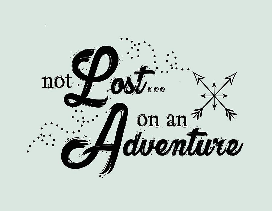 Not Lost On An Adventure by Heather Applegate