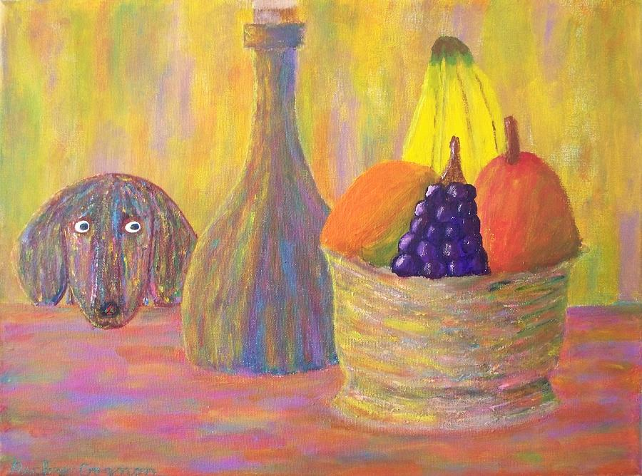 Still Life Painting - Not So Still Life Number One by Ricky Gagnon