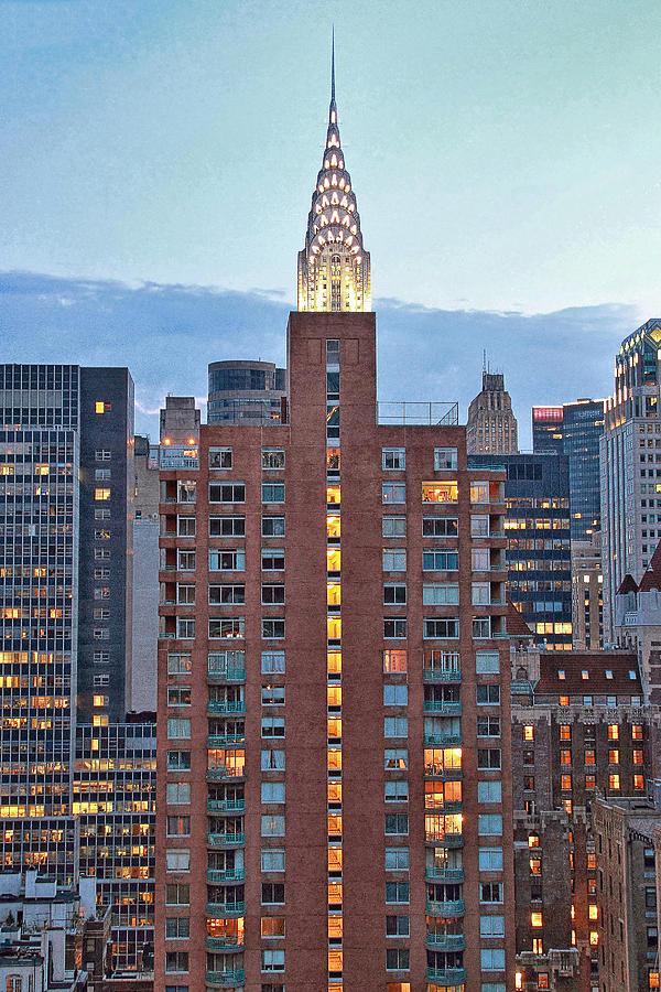 Nyc Photograph - Not The Chrysler Building Nyc by Bob Slitzan