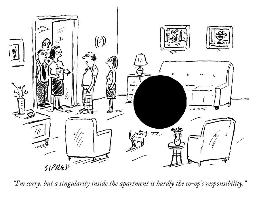 Not the Co Ops Responsibility Drawing by David Sipress