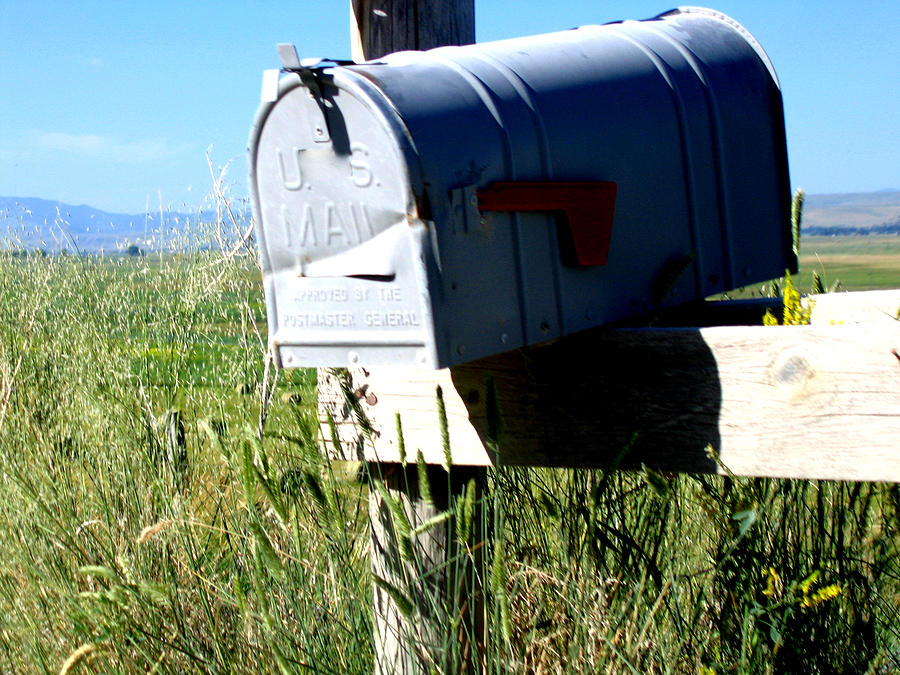 Mailbox Photograph - Note For You by Diane Wallace