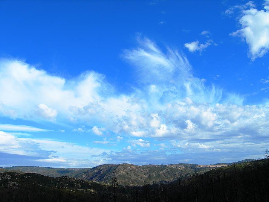 Clouds Photograph - Nothing But Blue Skies by Donna Zoll