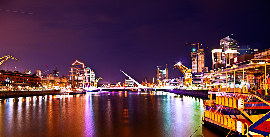 Buenos Photograph - Nothing But Lights by Francisco Colon