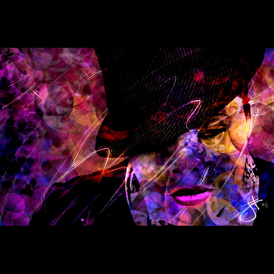 Prince Digital Art - Nothing Compares 2 U by Jason Hanson