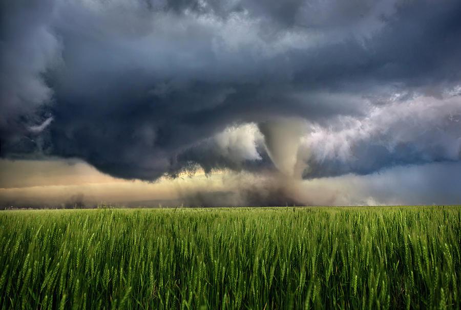Tornado Photograph - NoTill by Thomas Zimmerman