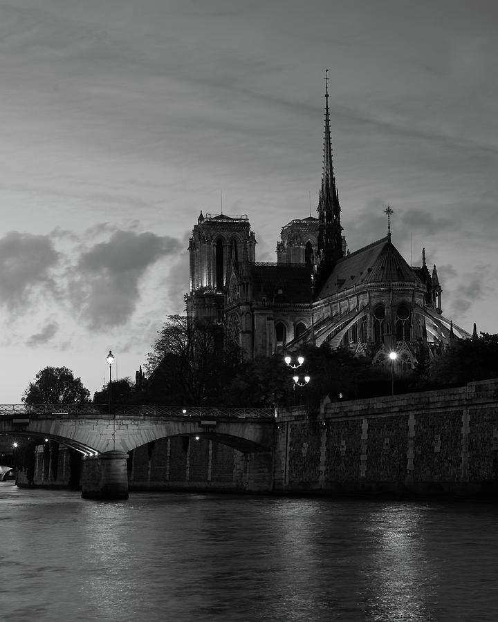 Notre Dame by Night by Richard Goodrich
