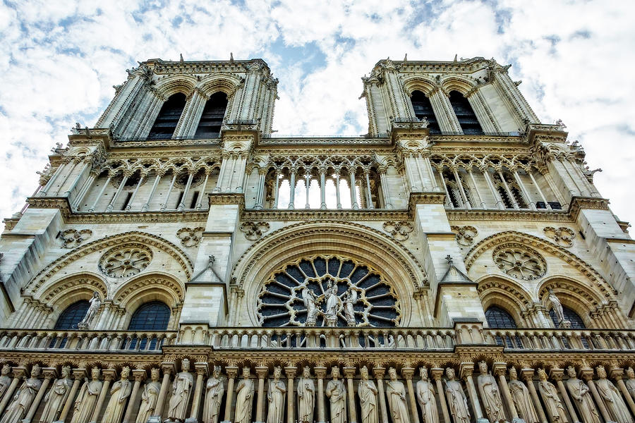 Notre Dame Cathedral, Paris by Kay Brewer