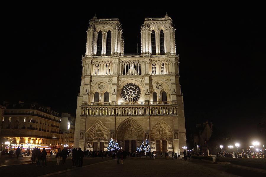 Church Photograph - Notre Dame De Paris by Erik Tanghe
