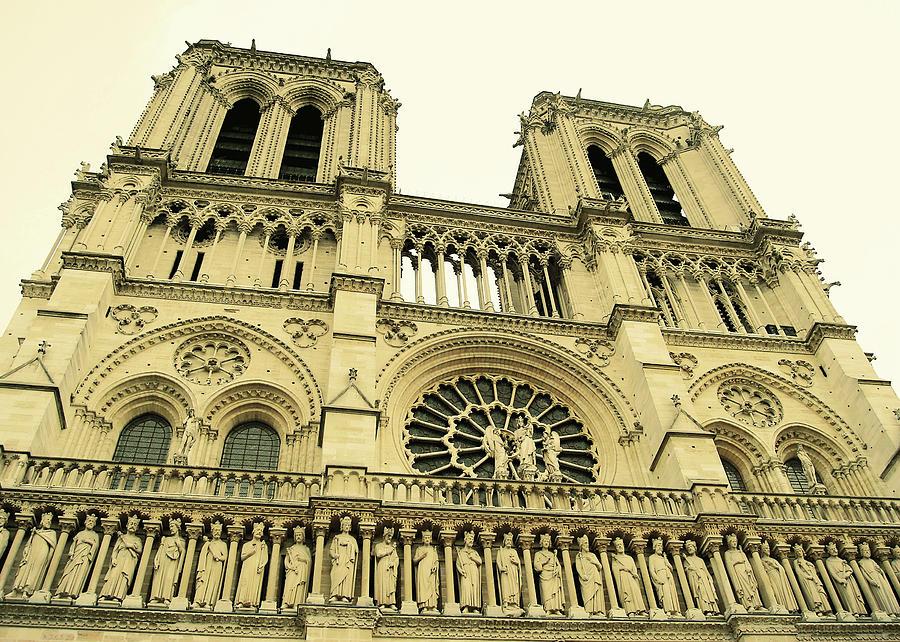 Paris Photograph - Notre Dame De Paris by JAMART Photography