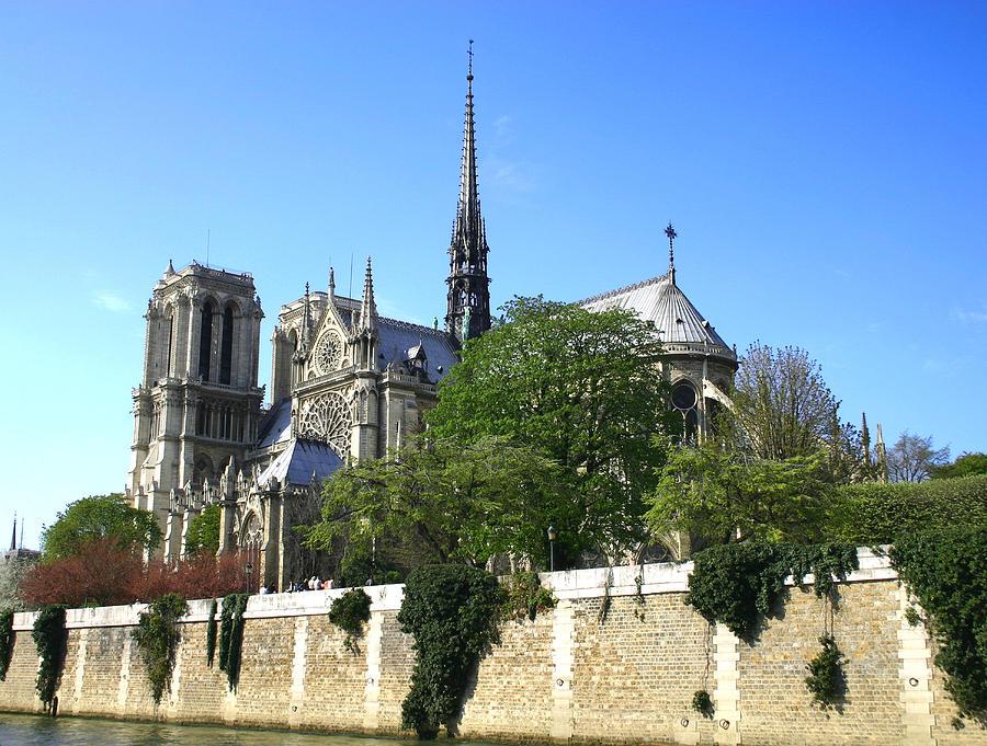 Notre Dame Photograph - Notre Dame by Hans Jankowski