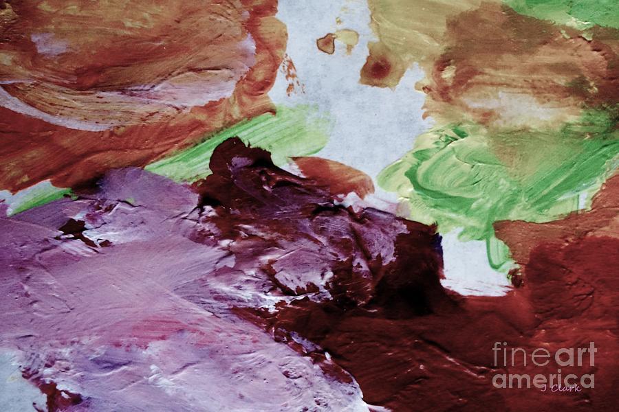 Pastel Painting - Nougat Valley by John Clark
