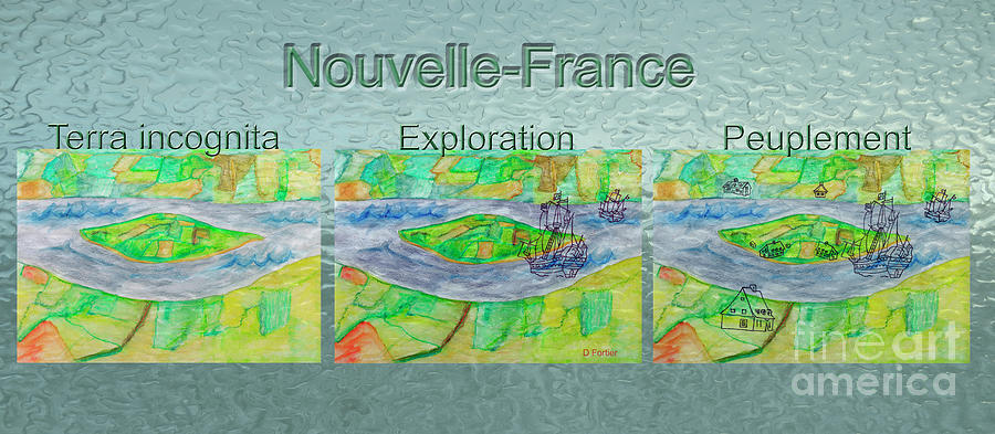 New France Photograph - Nouvelle-france Mug Shot by Dominique Fortier