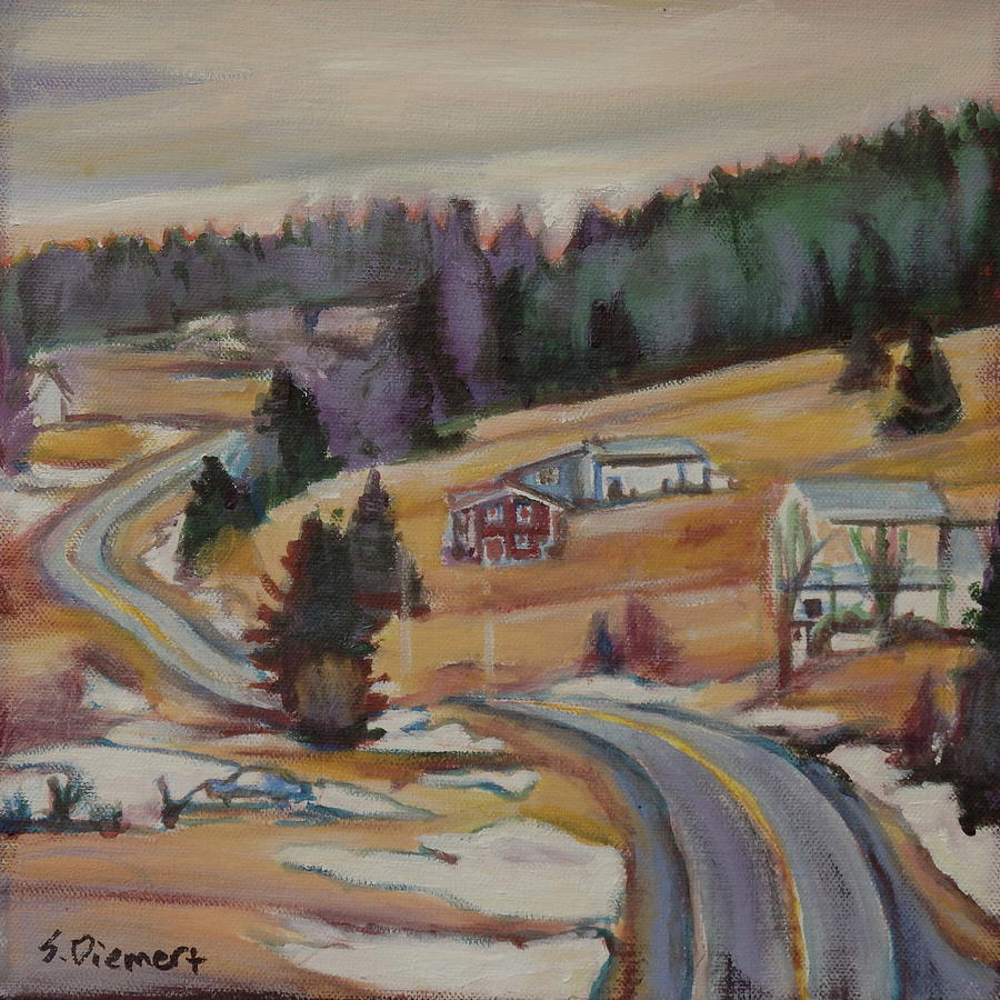 Nova Scotia - 011 Of Celebrate Canada 150 Painting